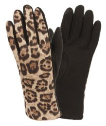 12 of Ladies Animal Leopard Print Touch Screen Glove