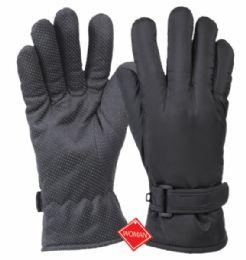 12 of Ladies Waterproof Glove W/thermal Fleece Lining
