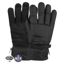 12 of Mens Waterproof Ski Glove With Sherpa Lining