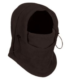 24 of Fleece Winter Flexible Mask In Charcoal
