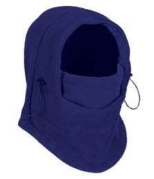 24 of Fleece Winter Flexible Mask In Royal Blue