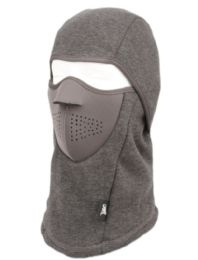 12 of Winter Face Cover Sports Mask With Front Foam And Warm Fur Lining In Grey