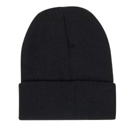 100 of Adult Knit Hat Beanie Black Only