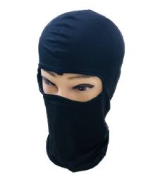 36 of Ninja Face Mask Black Only
