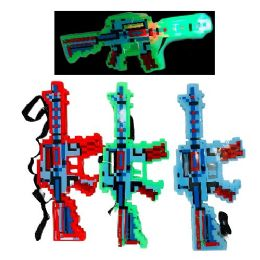 72 of Light And Sound Pixelated Toy Gun