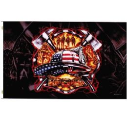 72 of American Patriotic Firefighter Flag