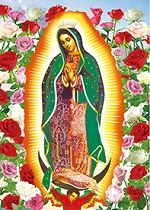 40 of 3D Picture Our Lady of Guadalupe Virgin Mary