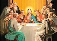40 of 3D Picture Jesus With Apostles