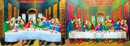 40 of 3D Picture The Last Supper