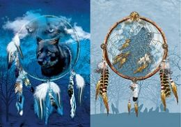 40 of 3D Picture Dream Catcher With Wolf
