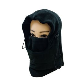36 of Extra Warm Black Fleece Hooded Face Mask
