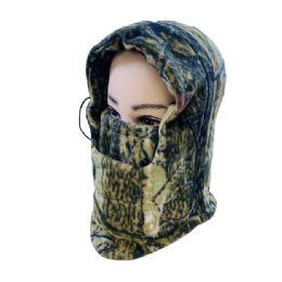48 of Extra Warm Camo Fleece Hooded Face Mask