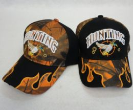 36 of Hunting Hat Duck Camo Flames On BIll