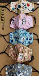 36 of Kids Cloth Face Cover Animal