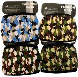 36 of Cloth Face Cover Assorted Camo Colors