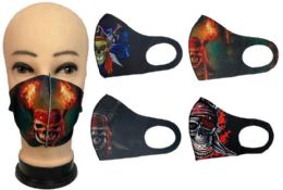 36 of Assorted Style Pirate Face Cover
