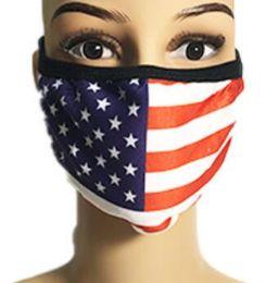 24 of Usa Flag Cloth Face Cover