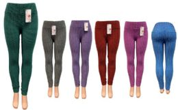 12 of Ombre Leggings with 2 Pockets At Back Assorted color