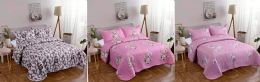10 of Queen Size Quilt and Pillow Sham Set