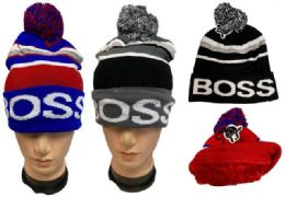 12 of Winter Pompom Hat Boss Plush Lining Inside