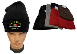 24 of Mix Color Winter Beanie Gulf War Veteran