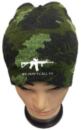 24 of We Don't Call 911 Camo Winter Beanie