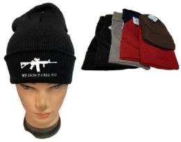 36 of We Don't Call 911 Mix Color Winter Beanie