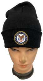36 of United State Veteran Black color Winter Beanie