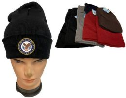 36 of United State Veteran Mix color Winter Beanie