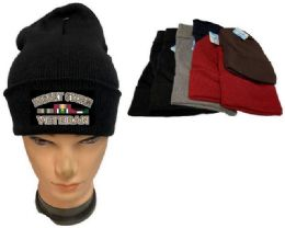 36 of Desert Storm Veteran Mix color Winter Beanie