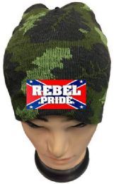 36 of Rebel Pride Camo Winter Beanie