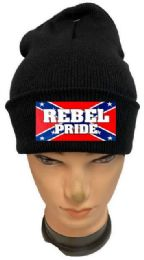 36 of Rebel Pride Black Winter Beanie