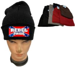 36 of Rebel Pride Assorted color Winter Beanie