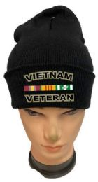 36 of Vietnam Veteran Black Color Winter Beanie