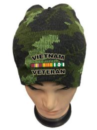 36 of Vietnam Veteran Camo Color Winter Beanie