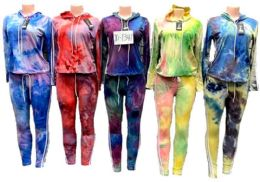 12 of Tie Dye Workout Yoga Clothes Sets