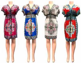 24 of V Neck Short Dress