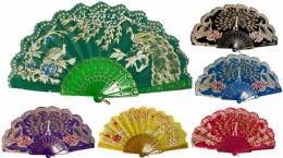 96 of Hand Fan Peacock With Lace