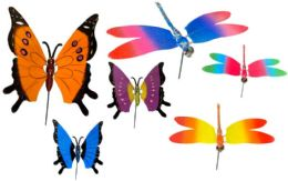 96 of Garden Stake Decoration Butterfly And Dragonfly