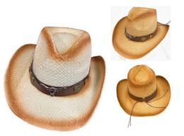12 of Cowboy Hat with Brown Hat Band Steer