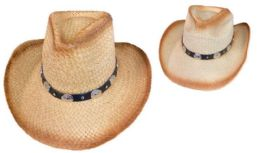 12 of Cowboy Hat With Round Silver Medallions