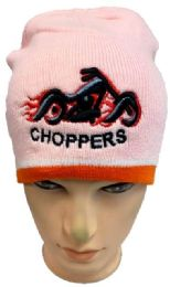 48 of Choppers Winter Beanie Hat In Pink