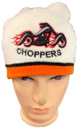 48 of Choppers Winter Beanie Hat In White