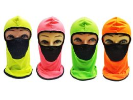 36 of Ninja Face Mask Neon Color