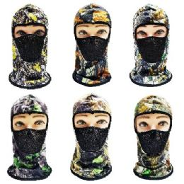 36 of Ninja Mask With Hardwood Print