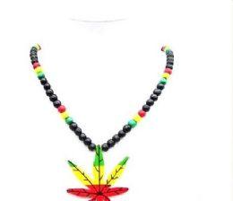 120 of Large Marijuana Sign Rosary Necklace