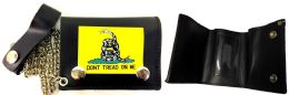12 of Tri Fold Leather Wallet Dont Tread On Me Yellow Snake