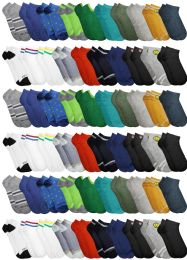 120 of Yacht & Smith Assorted Pack Of Boys Low Cut Printed Ankle Socks Bulk Buy