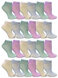 48 of Yacht & Smith Women's Light Weight No Show Loafer Ankle Socks In Assorted Pastel