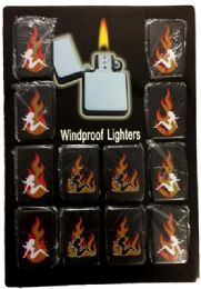 24 of Lighters Girl With Flame